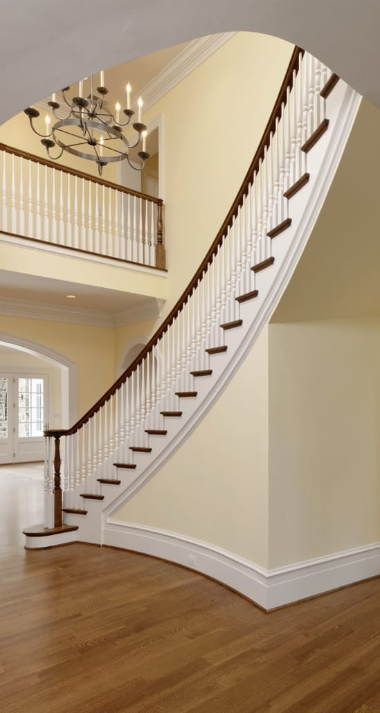 6523 Ridge St, McLean, Virginia - Foyer - McLean, Virginia Custom Home Builder
