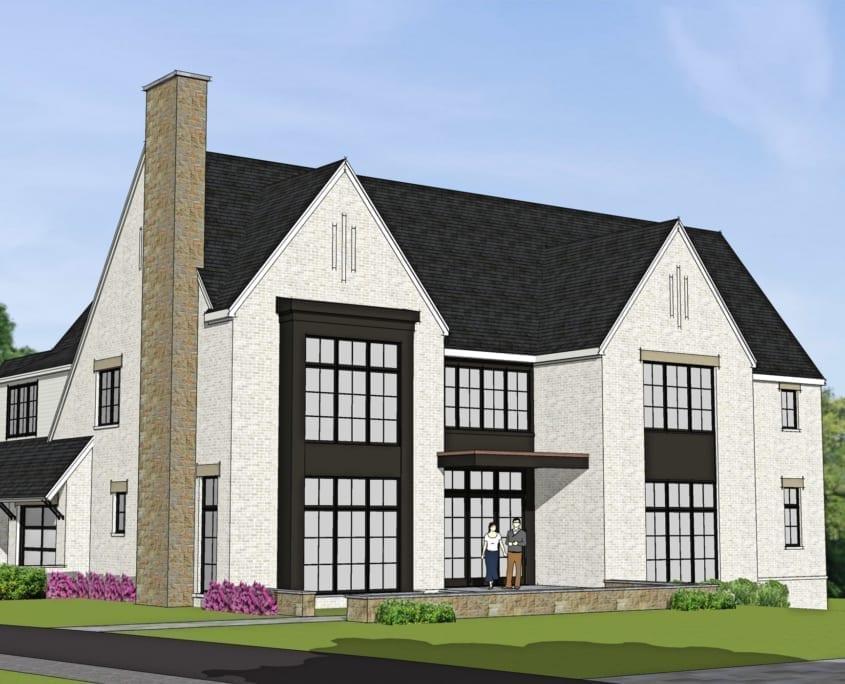 Ingleside Avenue - Exterior - McLean, Virginia Custom Home Builder