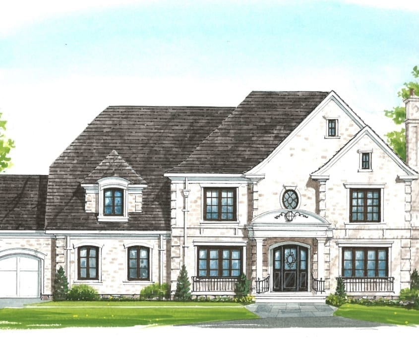 Exterior - McLean, Virginia Custom Home Builder