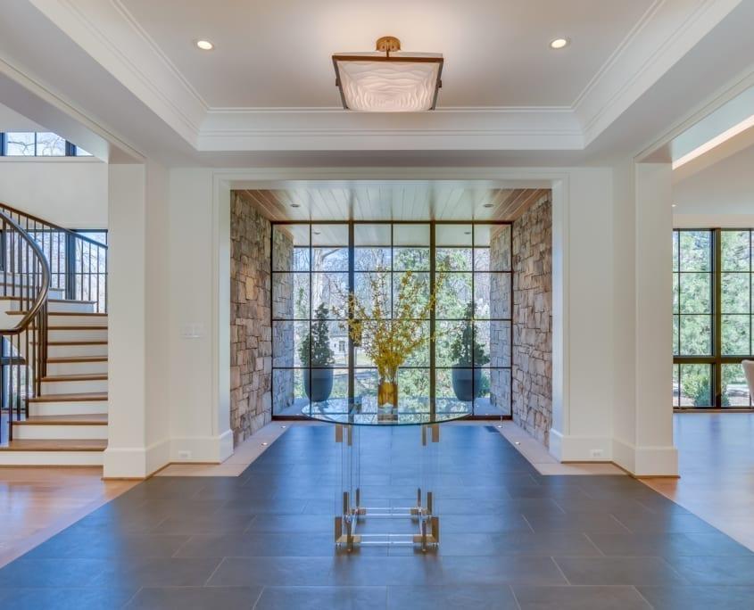 Modern Entry - McLean, Virginia Custom Home Builder