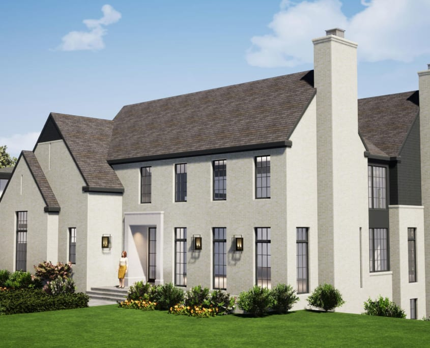 1098 Ingleside Ave McLean, VA 22101 - Custom Home - Main Perspective - McLean, Virginia Custom Home Builder