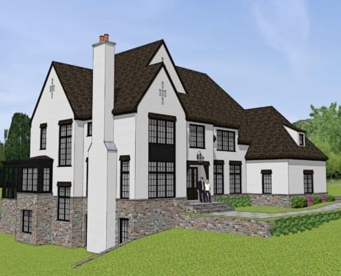 Corbin Court - Front Left - McLean, Virginia Custom Home Builder