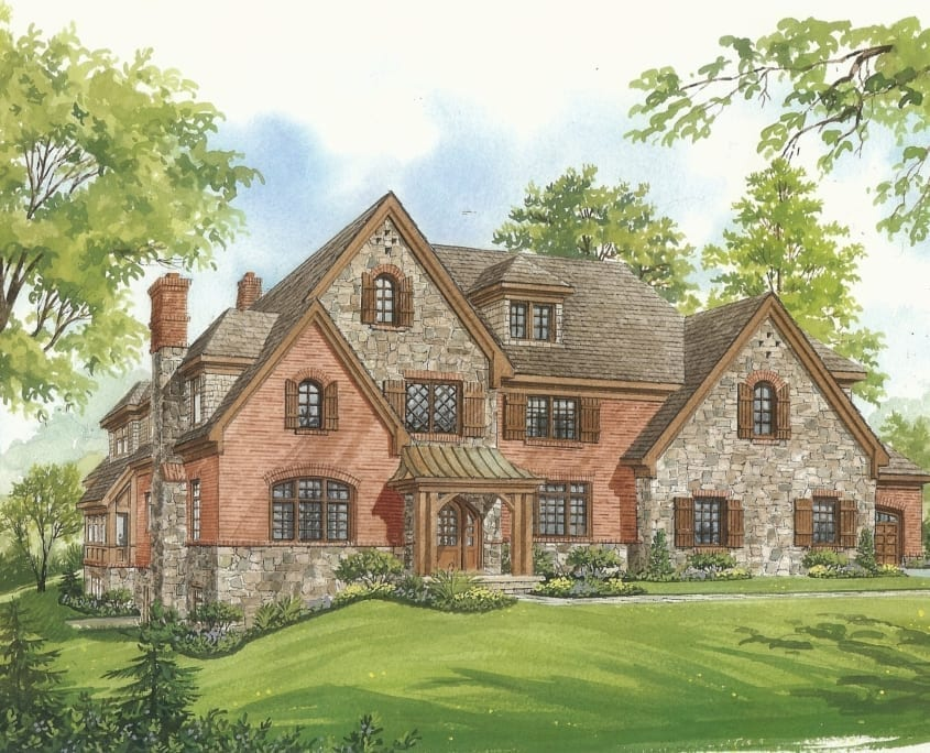 Franklin Forest - Exterior - McLean, Virginia Custom Home Builder