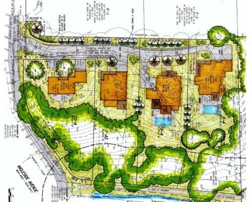 Reid's Grove - Conceptual Development Plan - McLean, Virginia Custom Home Builder